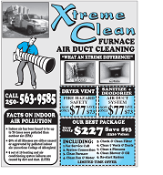 Air Duct and Dryer Vent Cleaning in Prince George